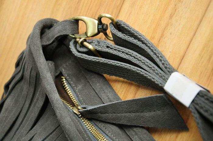 genuine leather fringe tassel bags women shoulder crossbody bag women's handbags bag (22)