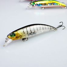 2016 New 5Pcs Top Quality Sinking Fishing Lures Saltwater Pesca Minnow Wobblers Fish Bait Carp Fishing tackle 4g 65mm leurre dur