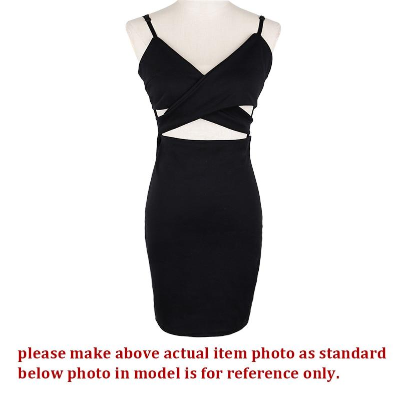 HTB14ueiLpXXXXbyXpXXq6xXFXXX3 - Strap V Neck Bandage Dress Sleeveless JKP209