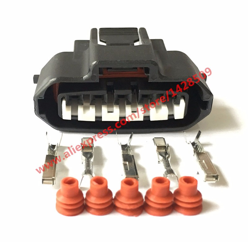 popular toyota wiring harness connectors buy cheap toyota wiring 20 sets 5 pin engine plug female housing wire harness connector ignition air flow meter socket