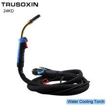 Welding accessories BINZEL 24KD Water Cooling CO2 MIG Welding Gun/Welding Torch for MIG MAGNBC NB inverter DC welding  Machine цены