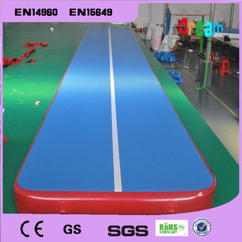 Free Shipping 5m Inflatable Cheap Gymnastics Mattress Gym Tumble Airtrack Floor Tumbling Air Track For Sale цена 2017