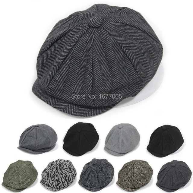 1a1e062606cf5 9 kinds Spring brand fashion Winter thermal octagonal cap newsboy beret cap  outdoor hats toucas gorro