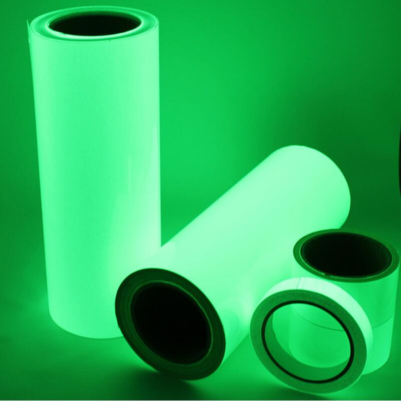 One Roll 10M Luminous Tape Self-adhesive Glow In The Dark Safety Stage Home Decorations Warning Tape 10m super strong waterproof self adhesive double sided foam tape for car trim scotch