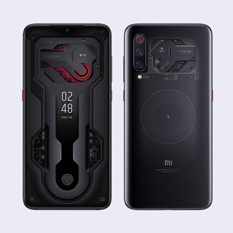 Global ROM Xiaomi mi 9 mi transparente 8GB RAM 128GB ROM Smartphone Snapdragon 855 de 6,39 48MP Triple cámaras traseras del teléfono móvil - 5