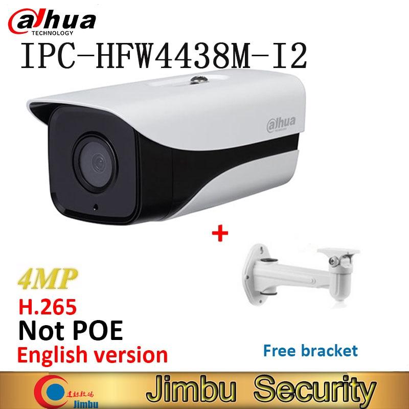 IP camera Dahua IPC HFW4438M I2 H.265 HD netwerk IR 80m WDR surveillance Security Camera Onvif bullet camera gratis beugel-in Beveiligingscamera´s van Veiligheid en bescherming op AliExpress - 11.11_Dubbel 11Vrijgezellendag 1