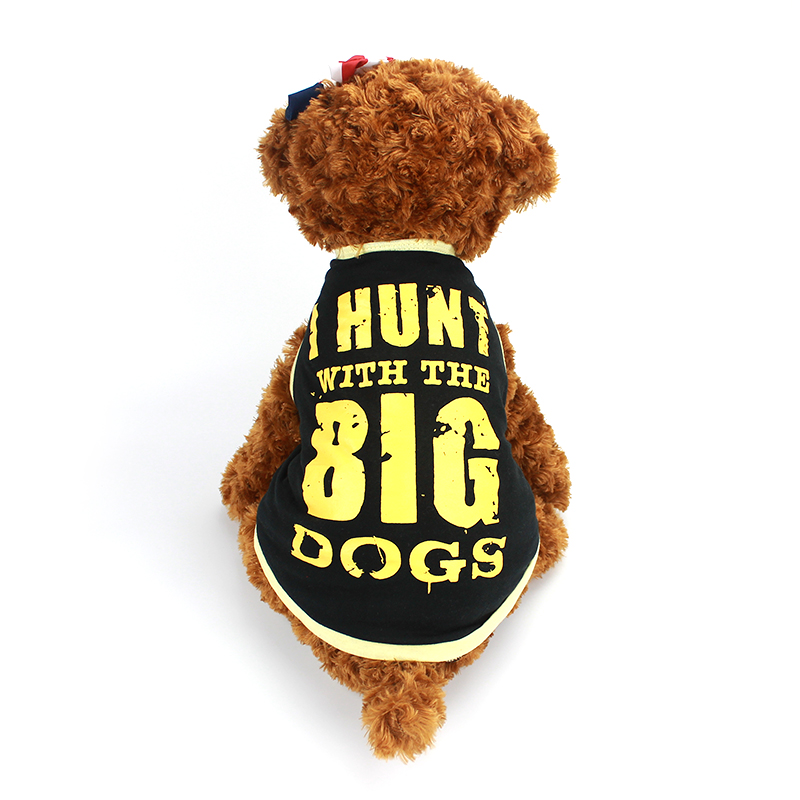 6b1599b7d 2017 Cute Pet Dog Clothes For Dogs Fashion T-shirt Small Pet Dog Vest  Clothes for Chihuahua York Cute Puppy Casual Jerseys 40