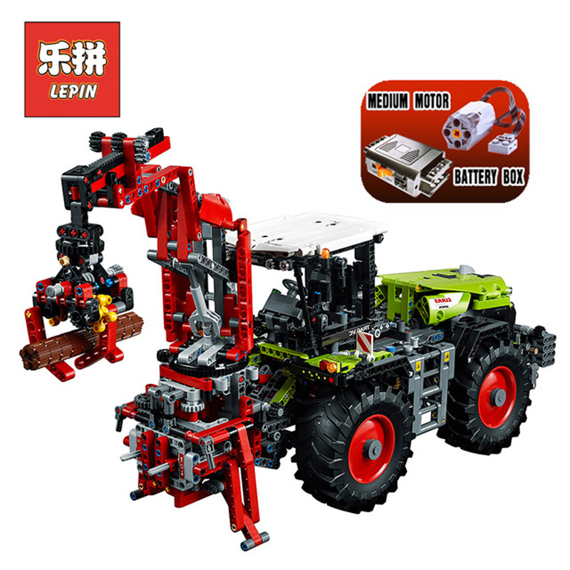Lepin 20009 1977Pcs Technic Figures CLAAS XERION 5000 Track VC Sets Model Building Kits Blocks Bricks Kids Toys Compatible 42054