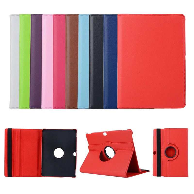 For Huawei MediaPad M2 10 10.0 inch M2-A01L M2-A01W A01L A01W Tablet Case 360 Bracket Flip Business Leather Cover image