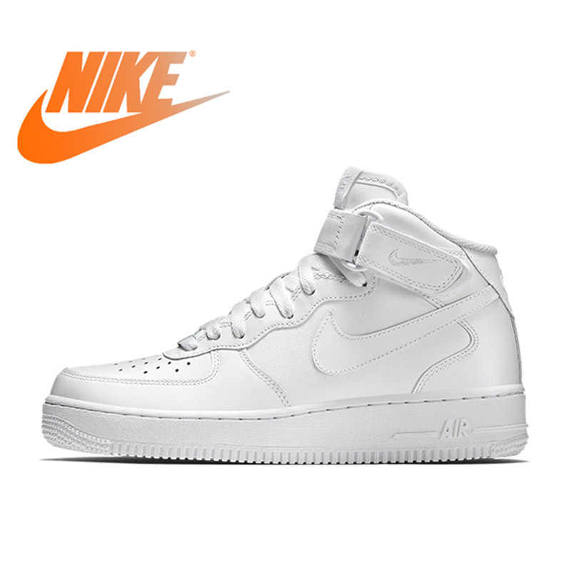 068dee8d210a Nike Air Force 1 AF1 Men s Classic Leisure Skateboarding Shoes Non-slip  Resistant Breathable Sport