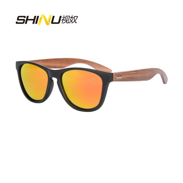 2c98a2585e Nueva llegada polarizado gafas De conducir para hombre UV400 protección De  las piernas De madera gafas