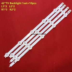 "Image 4 - LED רצועת עבור LG 42 אינץ 42 ""ROW2.1 טלוויזיה 42LA621V 6916L 1412A 6916L 1413A 6916L 1414A 6916L 1415A 6916L 1214A/1215A/1216A/1217A"