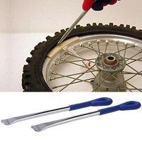 Vodool 2ピース炭素鋼タイヤ鉄セットCT108スプーン型の自動二輪タイヤ修理キットコアツール用各種車両