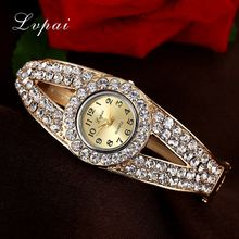 Women Luxury Watches Rhinestone Bracelet Wristwatches