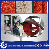 1000kg/h commercial electric meat grinder machine frozen beef mutton meat minced machine whole chicken duck grinding machine