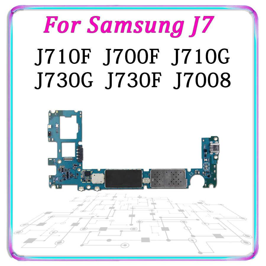 Original Motherboard For Samsung Galaxy J7 J710F J710FQ