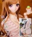 Мода белый и розовый полосатый пальто Для БЖД 1/6 YOSD Куклы Аксессуары