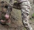 Envío gratis, Brand pantalones largos. hombres deportes militar camuflaje del ejército pantalones tácticos, mimetica militare