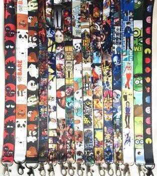 Ремешок на шею с карабином героев мультфильмов, аниме и кино в ассортименте 1