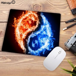 Image 3 - Mairuige Fashion Fire Pattern Printing Mousepad Rubber Rectangle Computer Notebook Mice Mat Gamer Speed Mouse Pad 220*180*2MM