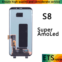 100 Working New LCD Screen Super Amoled For Samsung S8 S8 Plus G950 G955 Lcd Screen