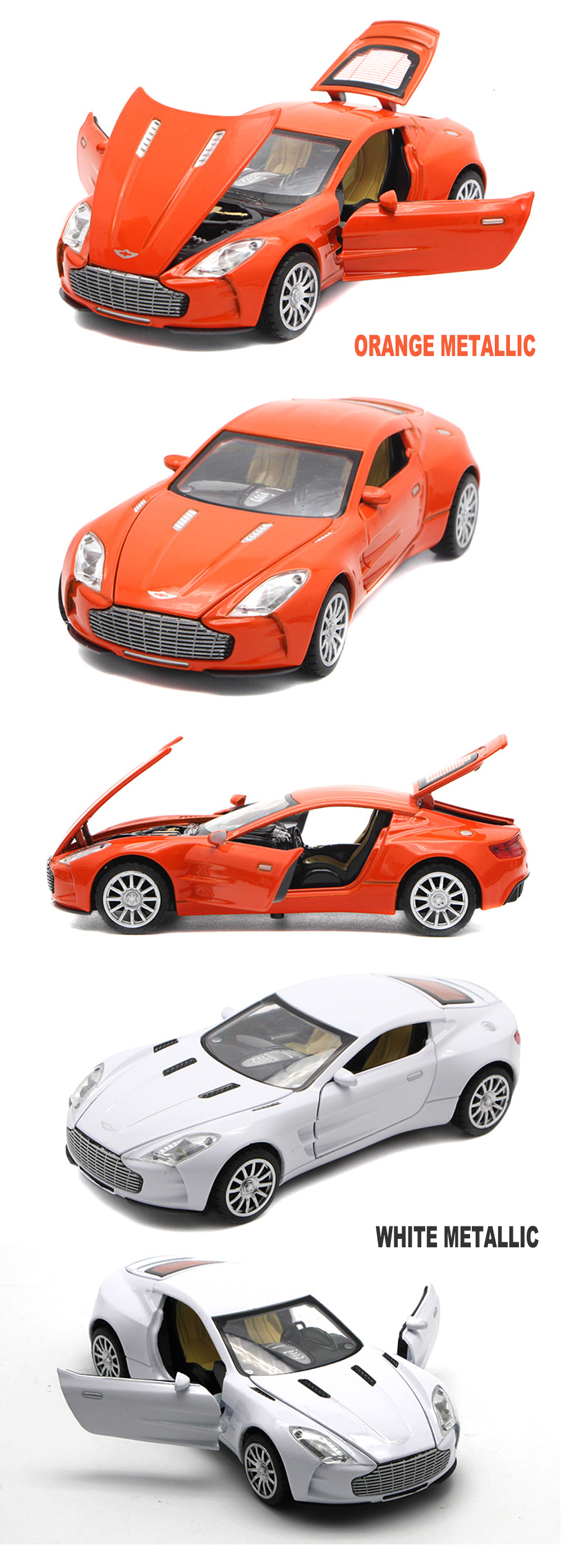 Aston Martin One-77 Toy Cars 15cm 17