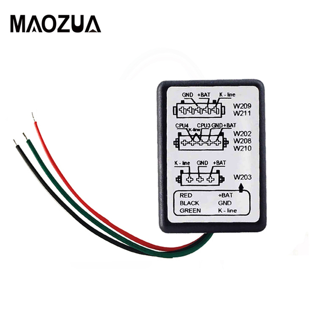 Maozua ESL Emulator for Mercedes for W202, W208, W210, W203, W211, W639 MB ESL Emulator Auto Key Programmer