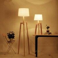 Modern Floor Lamps For Living room Bedroom Kitchen Standing Lamp Wooden Art Decor Bedsides Floor Lamps lamparas de pie salon