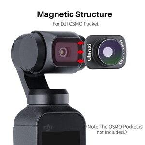 Image 2 - Ulanzi OP 8 カメラ魚眼レンズdji osmoポケットジンバルアクセサリー磁気魚眼レンズ