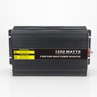 MAYLAR@ Real power 1200W Car Power Inverter Converter DC 48V to AC 110V or 220V Pure Sine Wave Peak 2400W Power Solar inverters