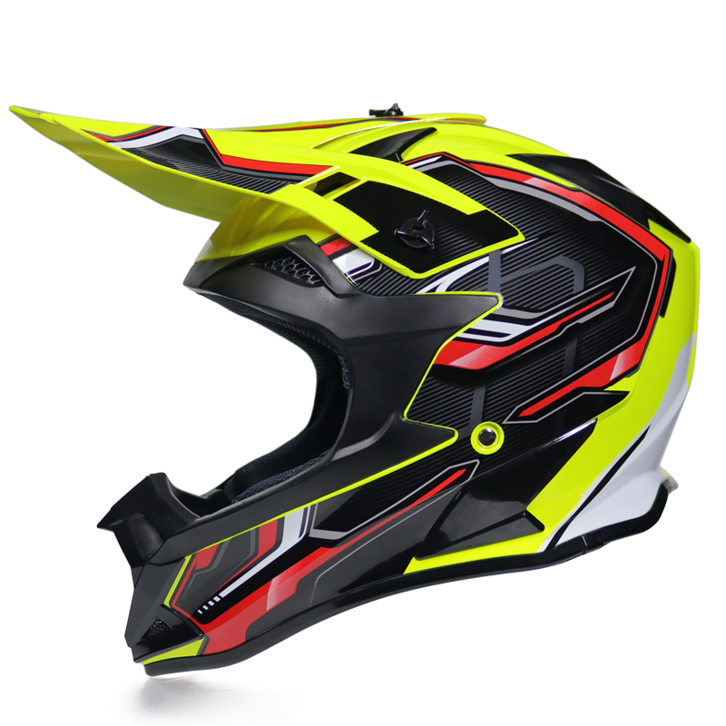 Hot Sales Light Off road Motorcycle Helmets downhill racing Full Face Helmet Motorcycle Helmet DOT approved