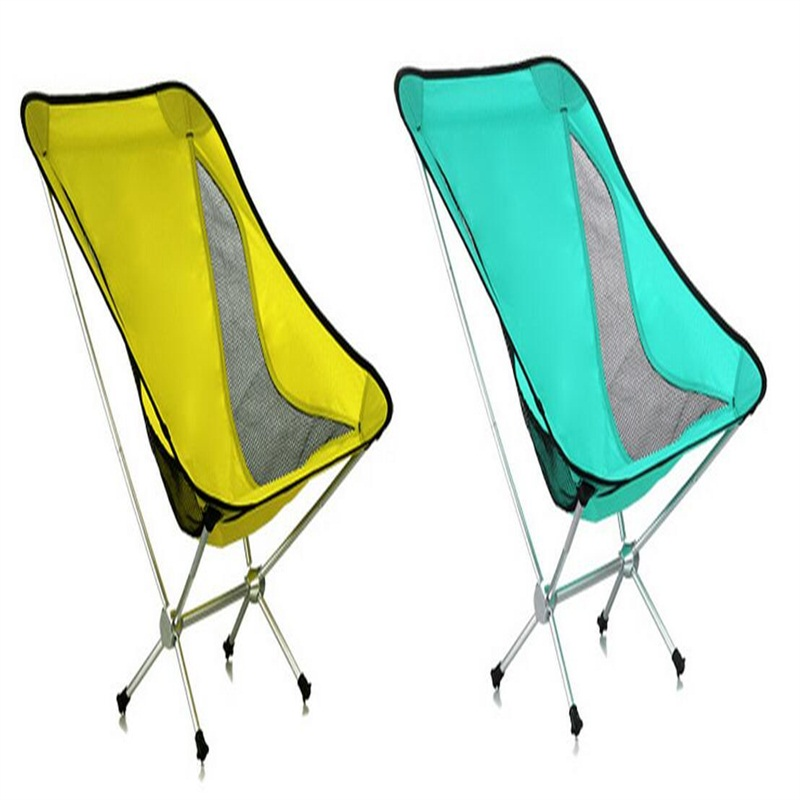 High quality Comfortable Folding Outdoor chair breathable Moon Chair camouflage outdoor comfortable folding fishing chair breathable moon chair leisure chair butterfly chair