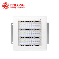 Free shipping high quality Meanwell driver 5years warranty 150w led gas station canopy lights