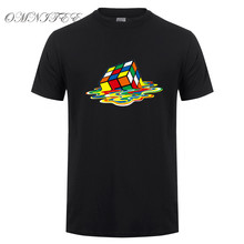 Дизайн, футболка с теорией большого взрыва, мужские футболки с магическим квадратом, мужские футболки с коротким рукавом, Шелдон Купер, Хлопковая мужская одежда