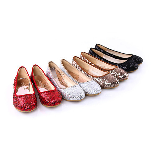 Aliexpress.com : Buy Flat Shoes Female Round Toe Flats Red Color ...