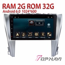 "Car Navigation for Toyota CAMRY 2015 10.1"" Android 6.0 WANUSUAL Radio Car PC Wifi Stereo 2G Ram with Free Reverse Camera"