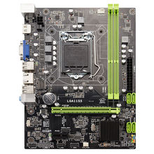 H61 Desktop Motherboard Lga1155 M-Atx For Core I3 I5 I7 Cpu Support Ddr3 Memory With 4 Ports Usb2.0 Vga Hdmi Port цена