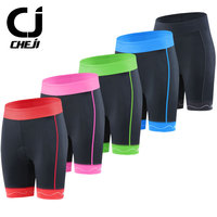New Women Professional Cycling Shorts Cheji Woman Pink Red Blue Black Pads Bike Shorts Summer Breathable