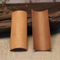 סט של 2 רטרו בד במבוק טבעי תה מסעדה מחזיק תצוגת מגבת שולחן בית תה Matcha היפני סיטונאי אבזר כלי