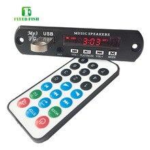 Bluetooth 4.0 ステレオ APE FLAC WAV WMA MP3 モジュール Bt ハンズフリーアプリのサポート Aux イヤホン出力 Fm ラジオ USB decording オーディオボード