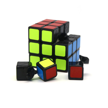 57mm Professional Magic Toys 3x3x3 PVC Sticker Frosted Block Puzzle Speed Cube Learning Educational Puzzle Migico