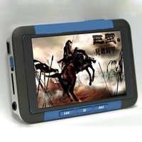 Smarcent Newest 3 inch TFT Screen Real 8GB MP3 MP5 Game Player with FM Radio Ebook TV out Red Blue