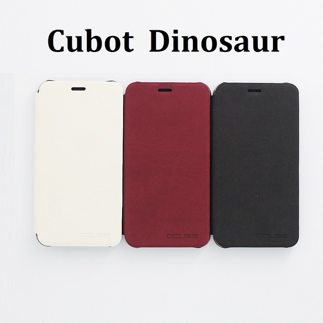 Cubot Dinosaur Case Cover with Phone Holder High Quality Protector Flip Leather Case Back Cover for Cubot Dinosaur Cellphone