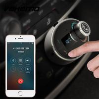 Bluetooth FM Transmitter Car Kit Adapter MP3 Player USB Charger TF Card Black