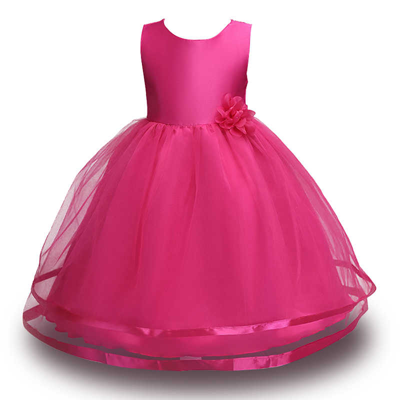 3-12 t女の子パーティードレスロングドレス花弓子供ドレストリビュート花女の子服ローブランファンフォーマルウェディングドレス用女の子