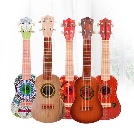Toy Musical Instrument Learning & Education Early Childhood Education Instrument Toy Can Play Four String Guitar Toys 2017 New