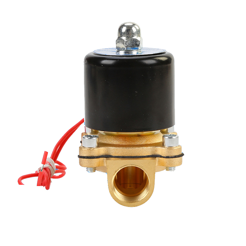 Solenoid Valve DC 12V 1//4/'/' NPT N//C Brass NC for Water Oil Air Diesel-Gas Fuels