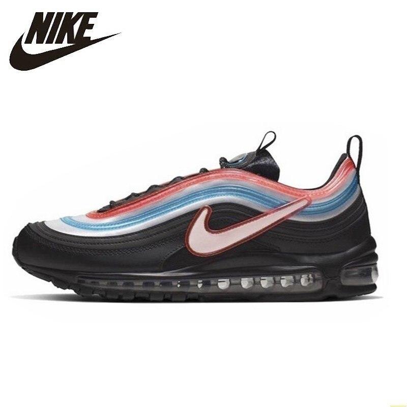 Nike Air Max 97 X Neon Seoul zapatos originales para correr para hombre zapatillas deportivas al