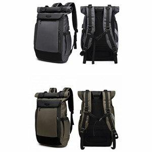Image 2 - Large Capacity Men Backpacks Waterproof Multifunction 18 19 Inch Laptop Backpack For Teenager Schoolbag Travel Mochilas Bagpack