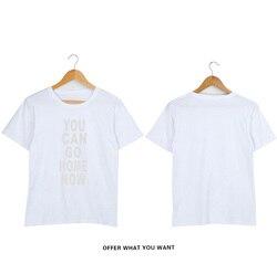 SMZY możesz iść do domu teraz koszulka męska lato moda okrągłe wycięcie pod szyją Tshirt mężczyźni bawełna Pop miękkie śmieszne Tshirt mężczyźni wygodne koszulki z krótkim rękawem 4